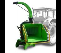 Štěpkovač za traktor na točně se závěsem pro přívěs 8t LS 200 T (750 ÷ 1000 ot/min)