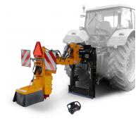Závěsná fréza za traktor s dálkovým ovládáním FZ 560 T - RC
