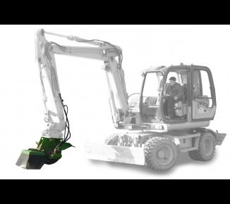 Fréza s hydropohonem pro zavěšení na stavební stroje FZ 700 H