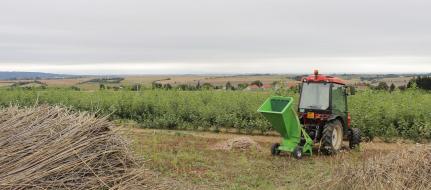 Zahradní štěpkovač za malotraktor LS 95 T (540 ot/min)