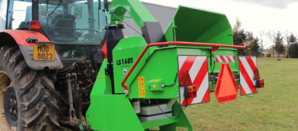 Výkonný  štěpkovač za traktor (540 ot/min) LS 160 T (540 ot/min)