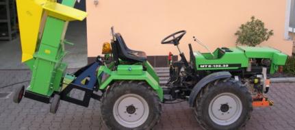 Drtič zahradního odpadu za traktor KDO 90 T