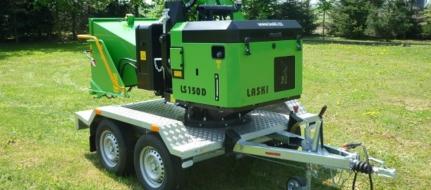Štěpkovač dřevní hmoty s dieselovým motorem LS 150 D
