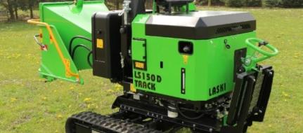 Pásový štěpkovač s dieselovým motorem LS 150 D Track