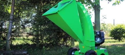 Zahradní štěpkovač nesený s motorem Kohler LS 95/CH - nesený