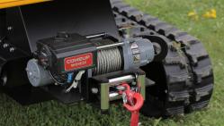 Výkonný štěpkovač na pásech s dálkovým ovládáním LS 160 DW Track