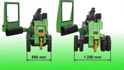 Fréza na pařezy s hydraulickým ovládáním F 500H/27