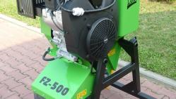 Fréza se spalovacím motorem pro zavěšení na stavební stroje  FZ 500/38