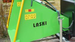 Štěpkovač na benzín s brzděným podvozkem LS 150/38 CB