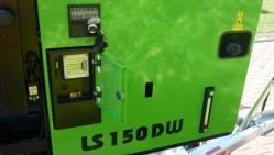Štěpkovač dřevní hmoty s vodou chlazeným dieselovým motorem LS 150 DW