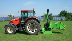 Štěpkovač za traktor se závěsem pro přívěs 8t LS 200 T (Závěs 8t)