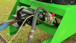 Štěpkovač za traktor na točně se závěsem pro přívěs 8t LS 200 T (Závěs 8t)