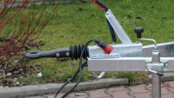 Štěpkovač na benzín s brzděným podvozkem LS 100/27 CB
