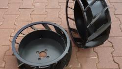 Drážkovač s hydropojezdem a motorem Honda TR 60/13 HC