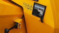 Výkonný štěpkovač na naftu a s brzděným podvozkem LS 160 DWB